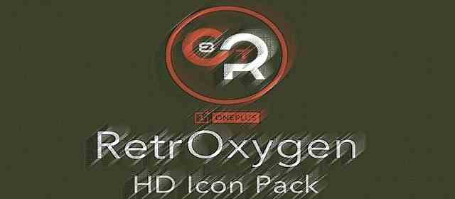 RETROXYGEN ICON PACK