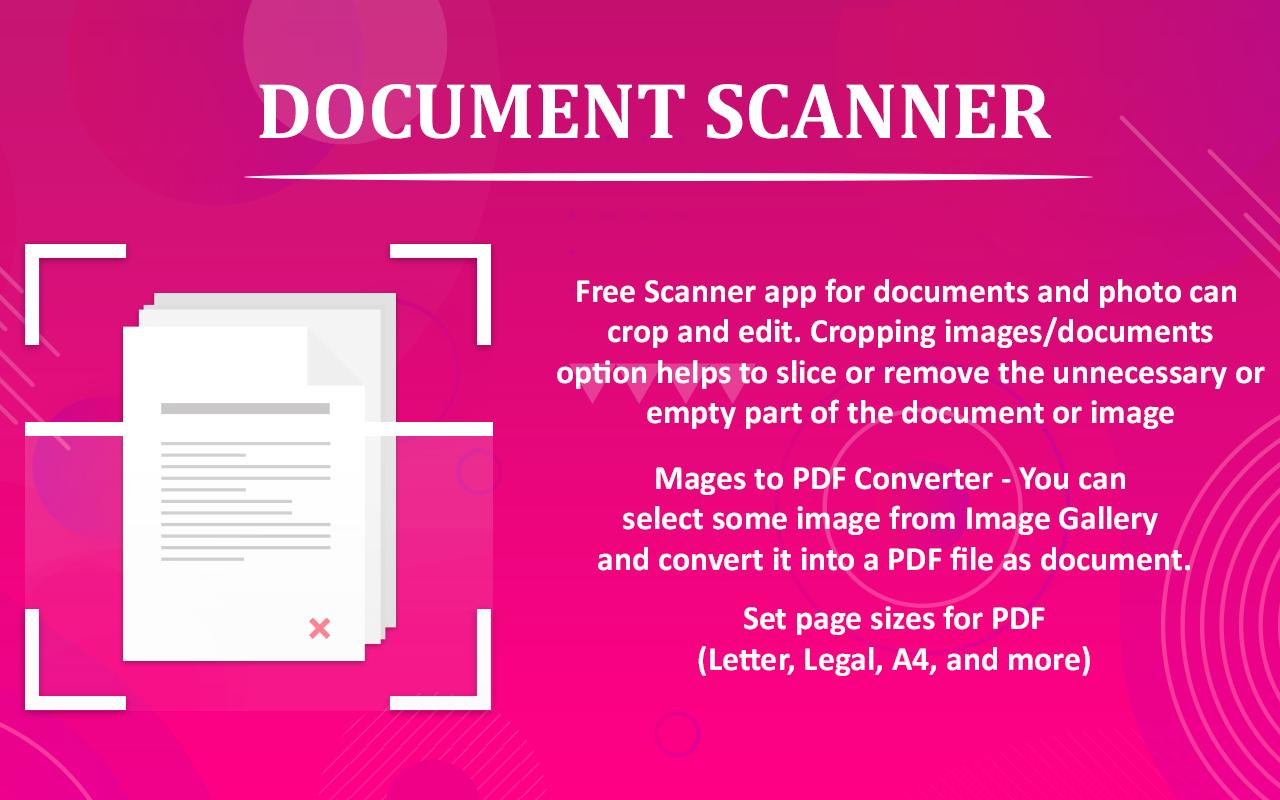 Document Scanner PDF Creator