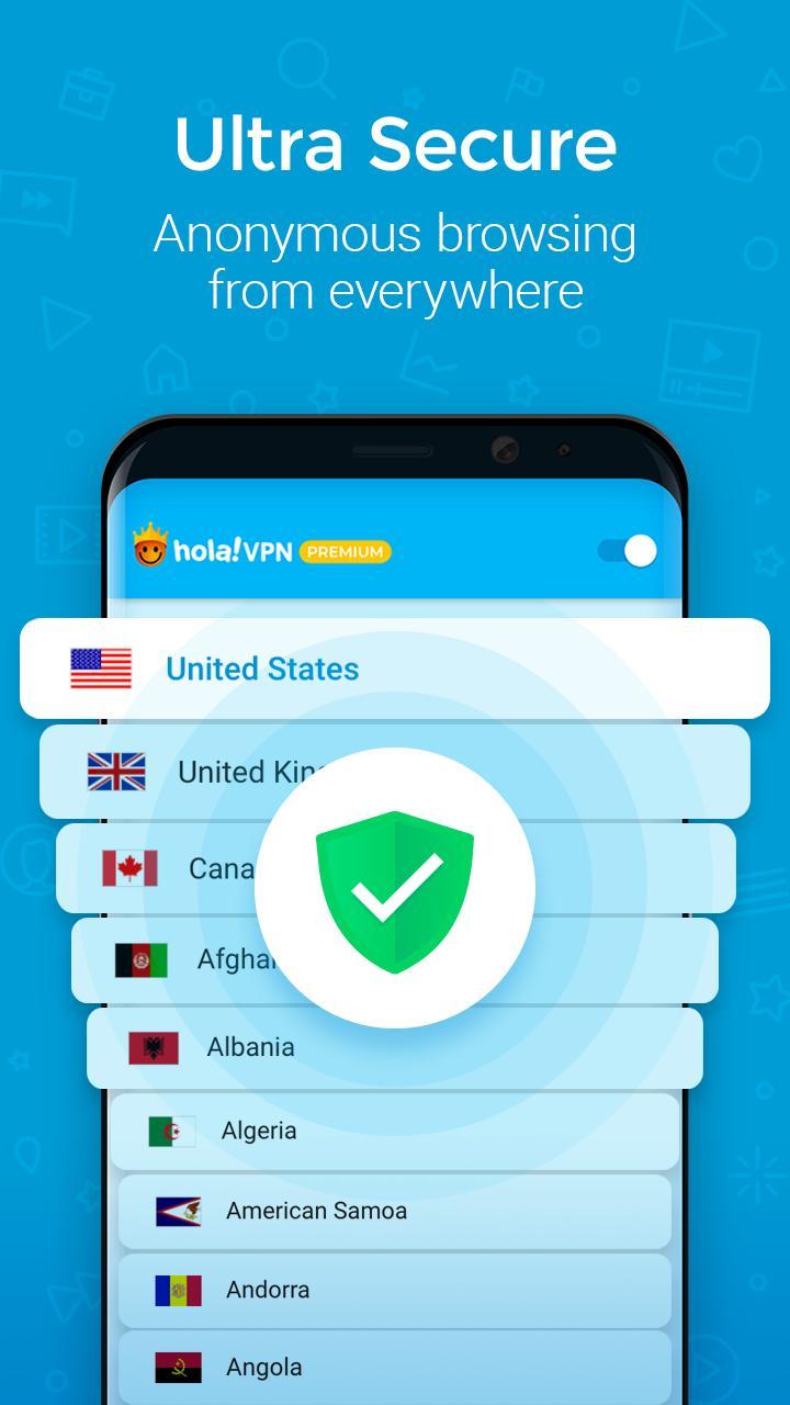 Hola VPN Proxy Plus Apk
