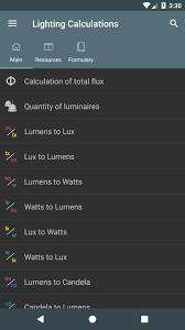 Lighting Calculations Apk
