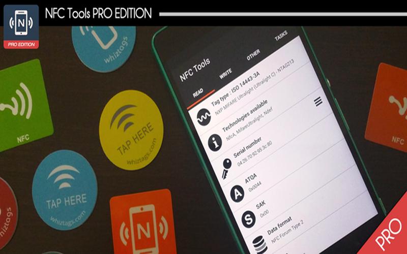 NFC Tools Pro Edition
